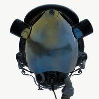 Pilot Helmet High