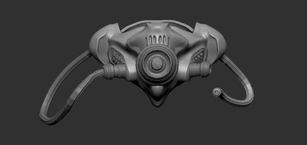 3D mask breath