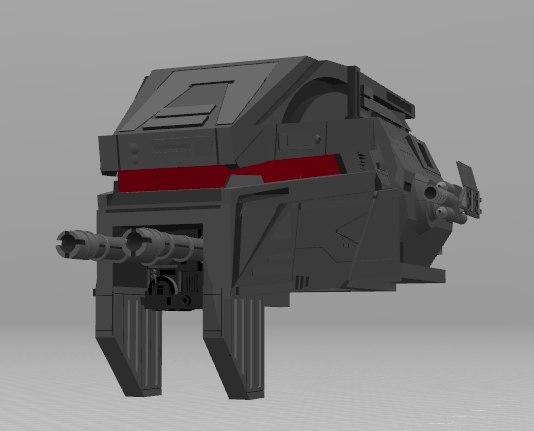 3D atm6 head model