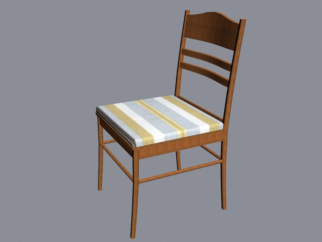 chair furniture 3D