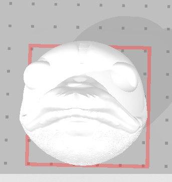 bird head 3D model