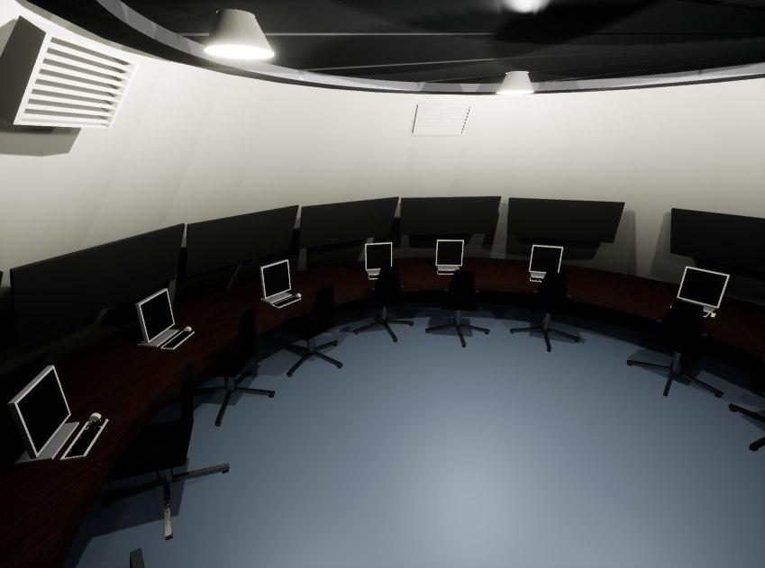terrestrial station 3D model