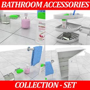 interior design bathroom model