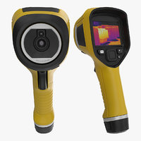 3D handheld thermal imaging camera