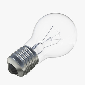 electric light bulb 3D model