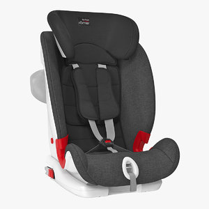 3D model britax romer child safety
