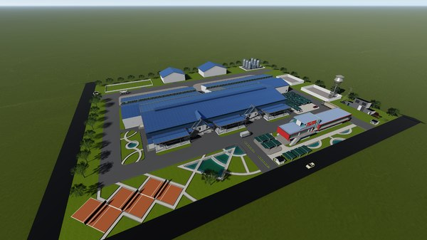 factory structural 3D