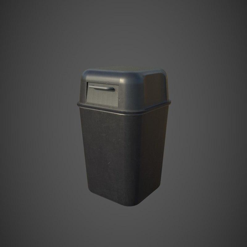 trash pbr 3D model