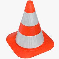 3D traffic cone