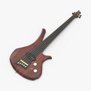 5 string diva guitar model
