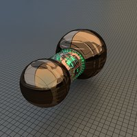 spaceship drive 3D model