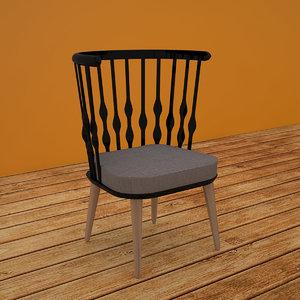 patricia chair design 3D