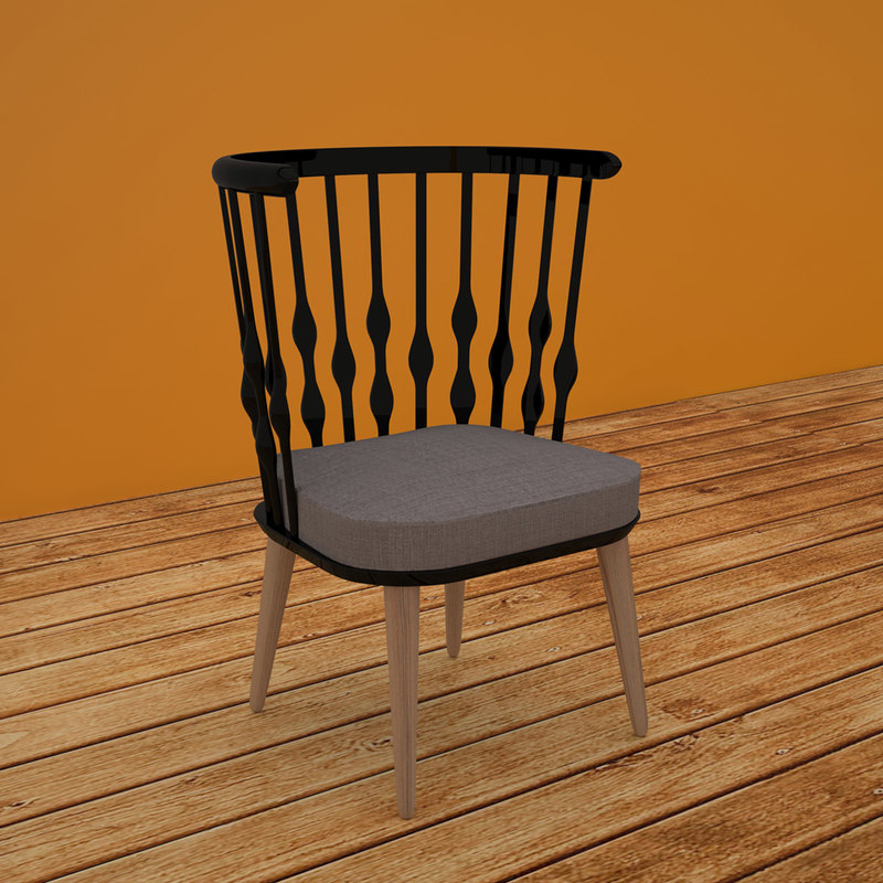 patricia chair design 3D