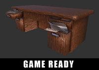 3D desk ready