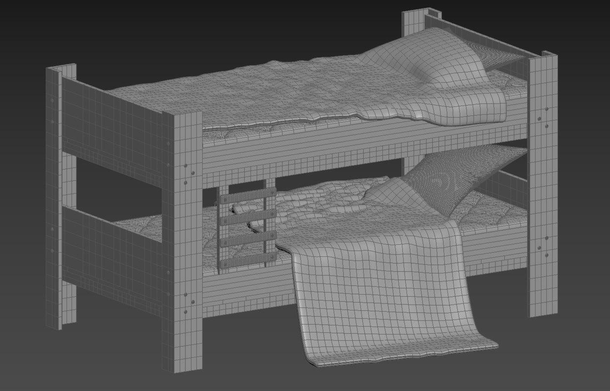 3D bunk model
