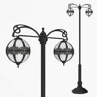 Street lamp two bulb v3.0