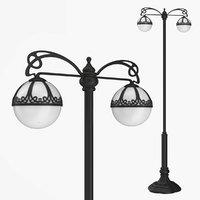 Street lamp two bulb v3.1