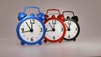 3D clock interior accessories model