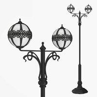 Street lamp two bulb v4.0