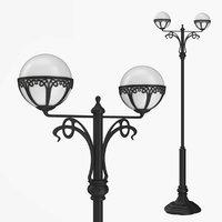 Street lamp two bulb v4.1