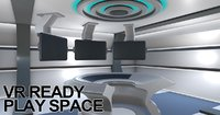VR Ready Play Space - Multi Screen Desk Room