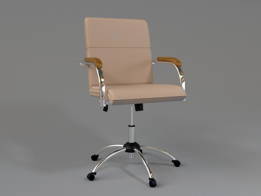 office chair samba 3D model