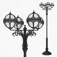 street lamp bulbs 0 3D