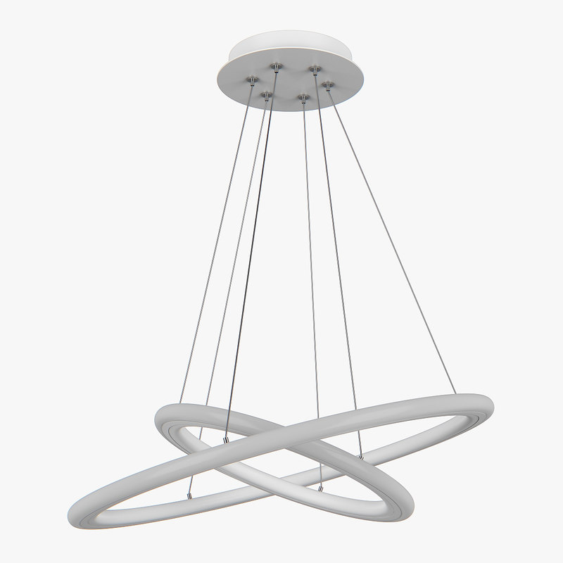 chandelier 748062 saturno lightstar 3D model