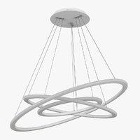 3D chandelier 748142 saturno lightstar model