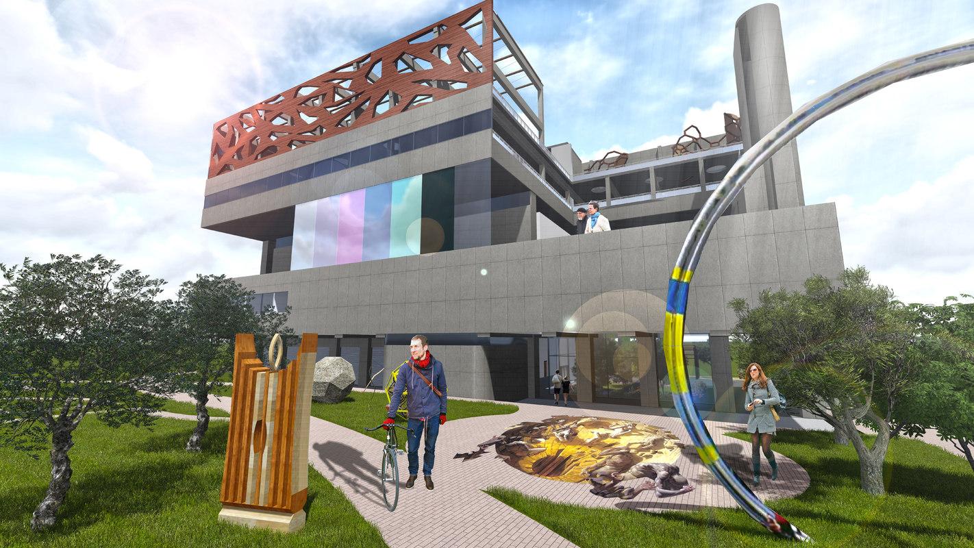 3D artist museum