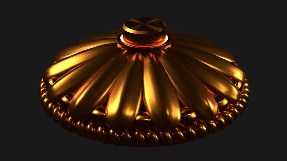 decorative doorbell 3D model