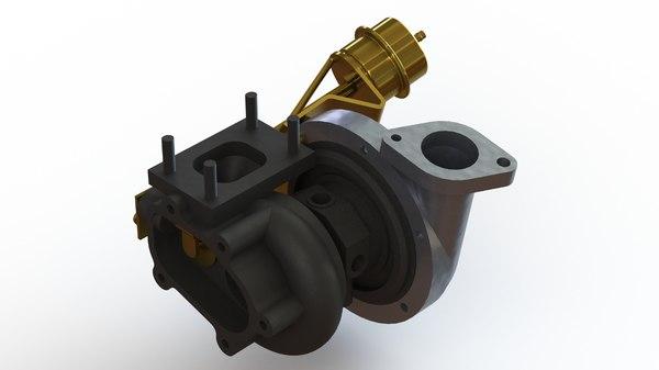 garrett gt2860r turbocharger model