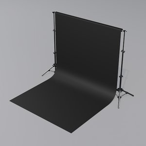 3D photostudio backdrop