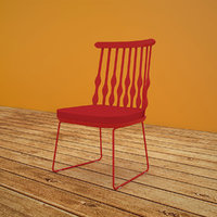 Patricia Red Chair