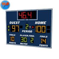 basketball scoreboard 3D
