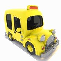 3D taxi toon