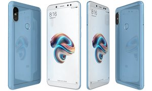 3D xiaomi redmi note 5 model