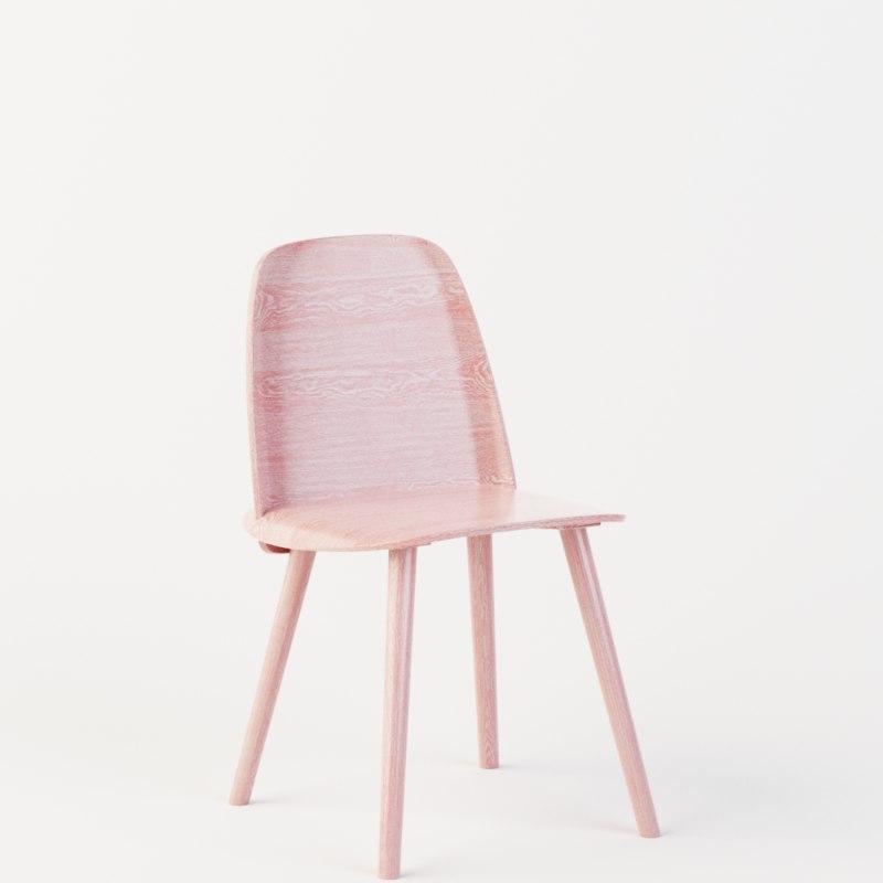 3D nerd chair model