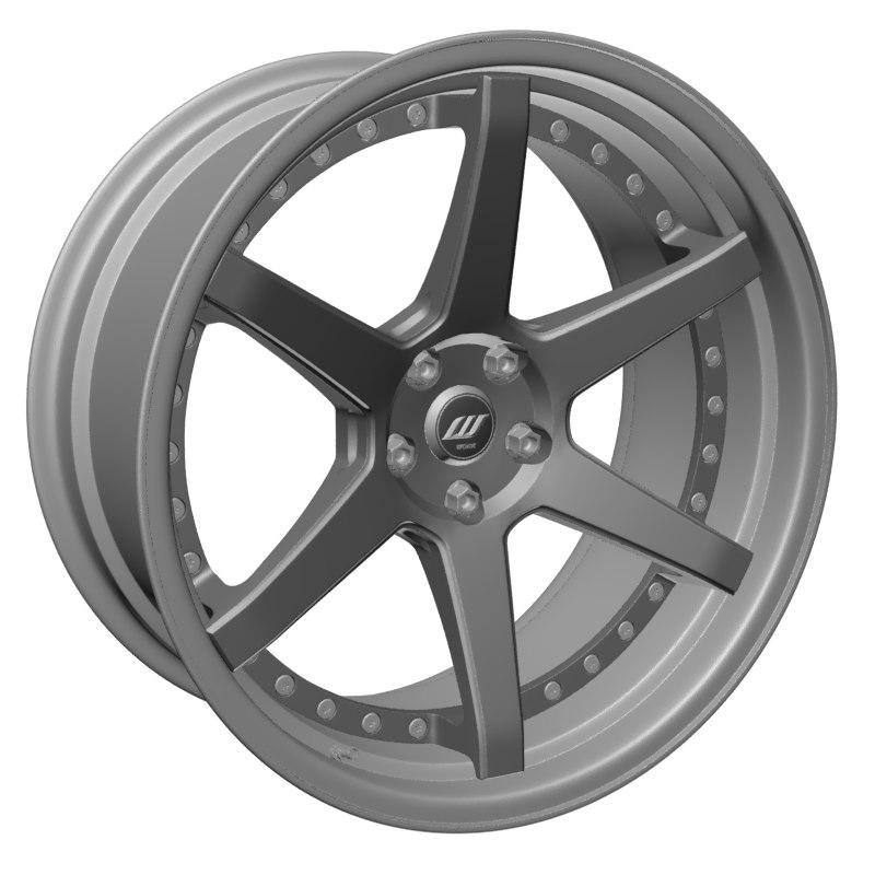 wheel work zeast st1 3D