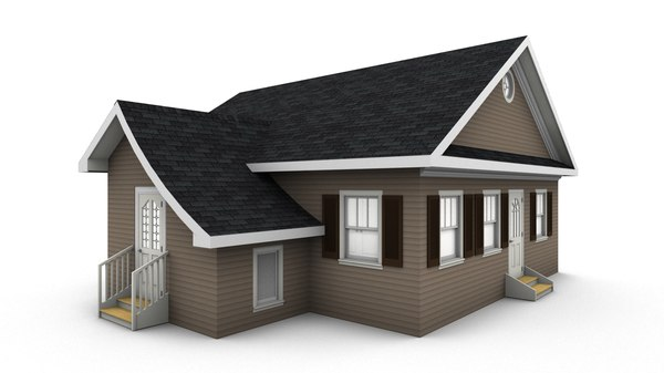 bungalow house model
