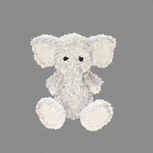 3D plush elephant