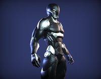 Sci-Fi Cyber Ninja