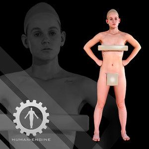 3D - human scanning