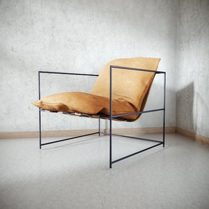 3D model sierra chair