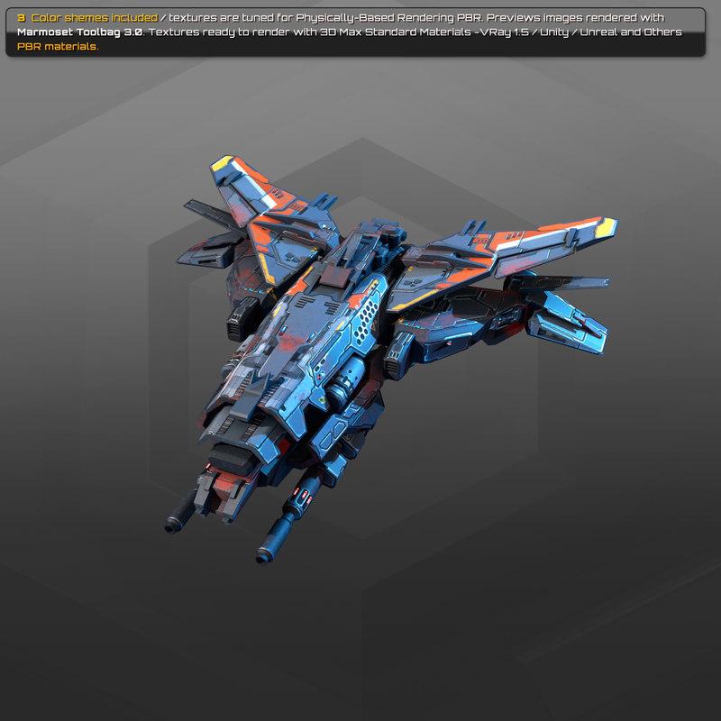 starship spacecraft model