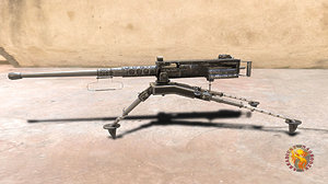 3D m2 browning model