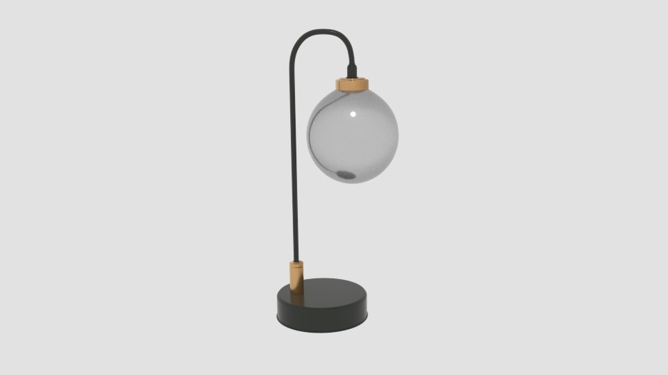 tanner black table lamp model