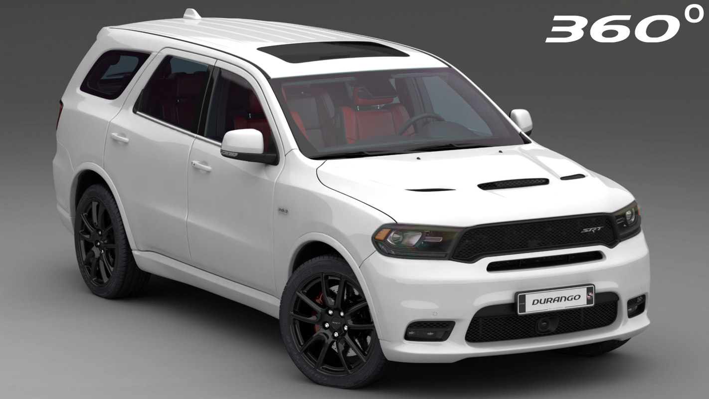 dodge durango srt 2018 3D model