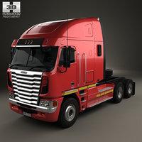 3D freightliner argosy tractor model