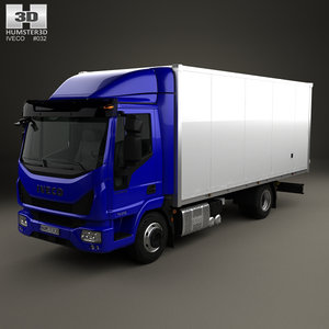 3D iveco eurocargo 75-210